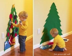 Albero di Natale a misura dibambino